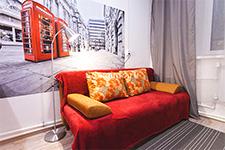 Челябинск, Свободы, 108а - номер «Лондон» в мини-отеле «Седьмое небо»